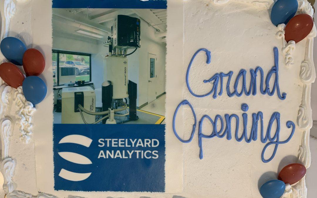 The Grand Opening of Steelyard Analytics Inc.