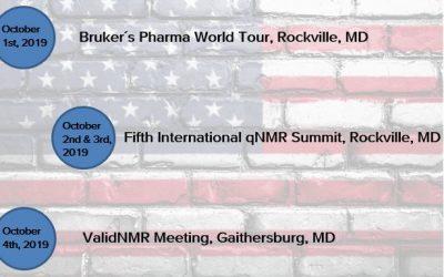 Meet Steelyard Analytics, Inc. during the qNMR week (October 1-4, 2019)