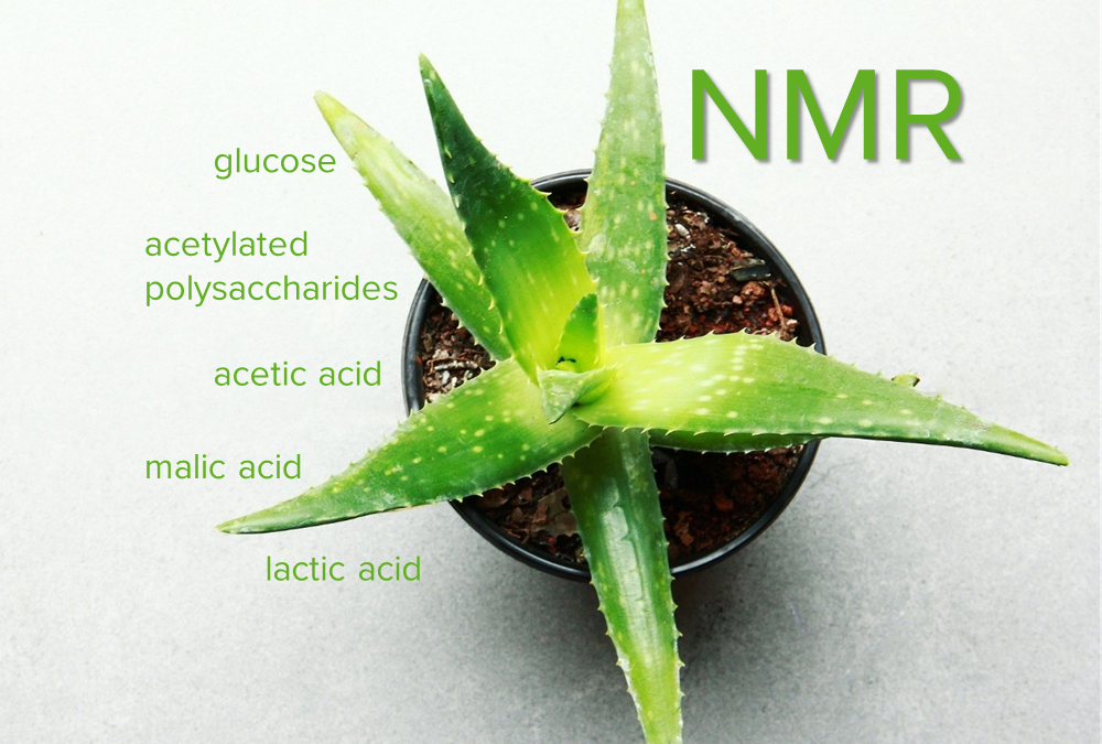 Aloe vera – Several compounds in one measurement!