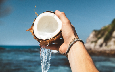 1H-NMR multiple component analysis: Coconut Water